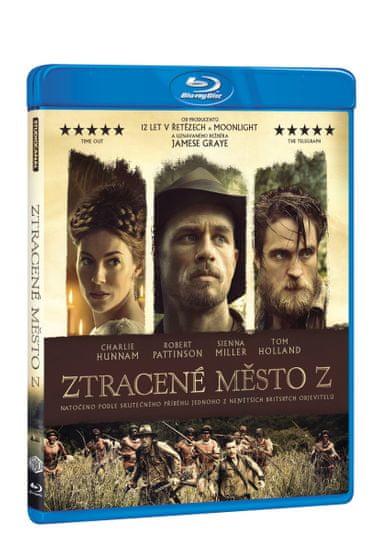 Ztracené město Z - Blu-ray