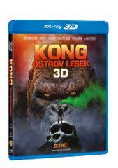 Kong: Ostrov lebek 3D+2D (2 disky) - Blu-ray
