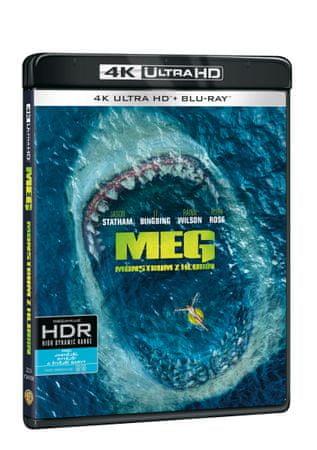 Meg: Monstrum z hlubin (2 disky) - Blu-ray + 4K Ultra HD