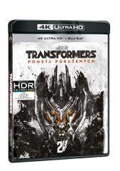 Transformers: Pomsta poražených (2 disky) - Blu-ray + 4K Ultra HD