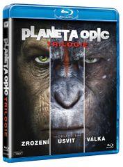 Trilogie Planeta opic (3BD) - Blu-ray
