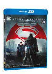 Batman vs. Superman: Úsvit spravedlnosti 3D+2D - prodloužená verze (3 disky) - Blu-ray