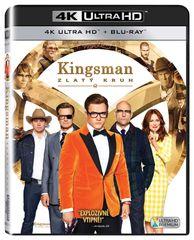 Kingsman: Zlatý kruh (2 disky) - Blu-ray + 4K Ultra HD