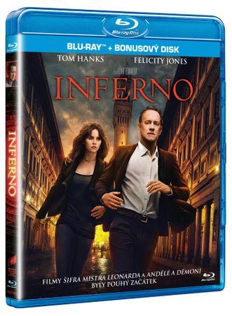 Inferno (film + bonusy, 2 disky) - Blu-ray