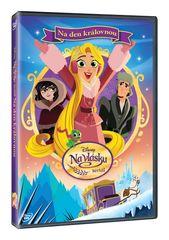 Na vlásku: Na den královnou - DVD