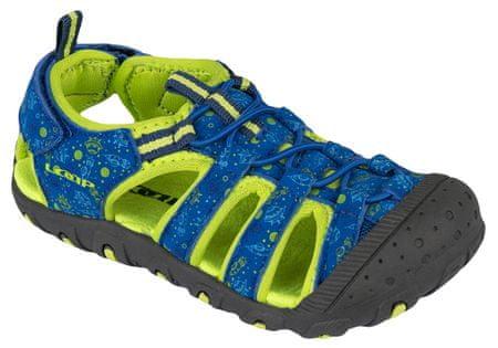 Loap chlapecké sandály Dopey 27 modrá