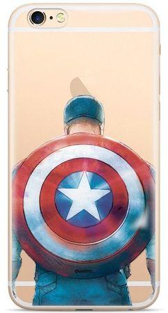 MARVEL Hátsó Borító az iPhone XS Captain America 002 MPCCAPAM360 számára