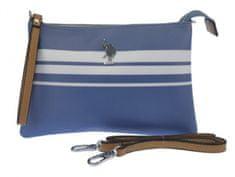 U.S. Polo Assn. dámské modré psaníčko