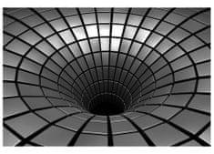 Dimex Fototapeta MS-5-0278 Strieborný tunel 375 x 250 cm