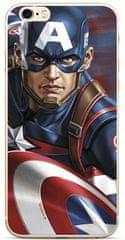 MARVEL Hátsó Borító a Huawei Y6 2019 Captain America 022 MPCCAPAM7849 számára
