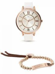 VictoriaWallsNY zestaw zegarek z bransoletką VWS003