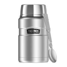 Thermos Style Termoska na jedlo sa skladateľná lyžicou a šálkou - nerez 710 ml