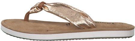 Tamaris női flip-flop papucs 37 arany
