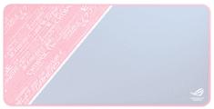 Asus gaming podloga za miško ROG Sheath PNK