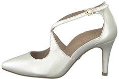 Tamaris Női körömcipő 1-1-24402-22-101 White Pearl