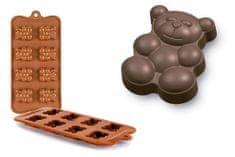 Ibili Forma na čokoládu mini Medvídek