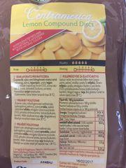 Barevná poleva CENTRAMERICA s příchutí - citrón, žlutá 1Kg