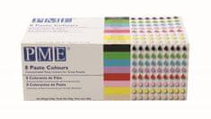 PME PME Sada gelových barev – 8 ks