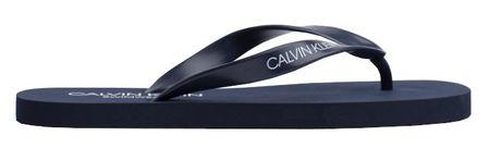 Calvin Klein Férfi Flip-flopFF Sandals KM0KM00341-445 Blue Shadow (méret 45-46)