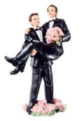 Florensuc Svatební figurka na dort on a on