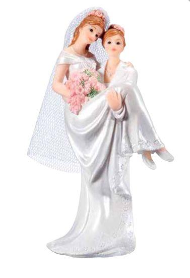 Florensuc Svatební figurka na dort ona a ona