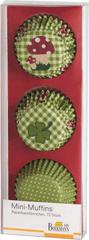 Birkmann Košíčky na mini muffiny 72ks zelené 4,5cm