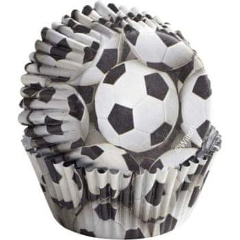Wilton Barevné košíčky Soccer 36 ks