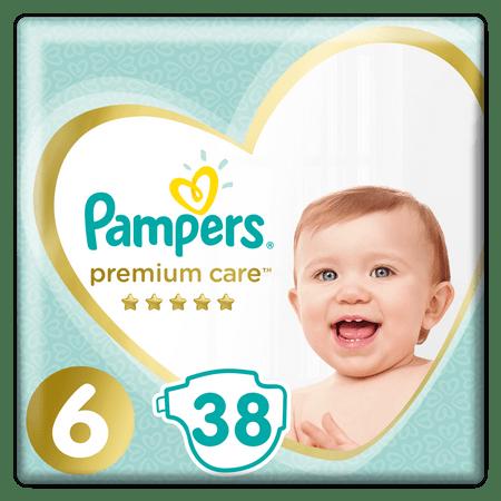 Pampers Premium Care 6 (13+ kg) 38 szt.