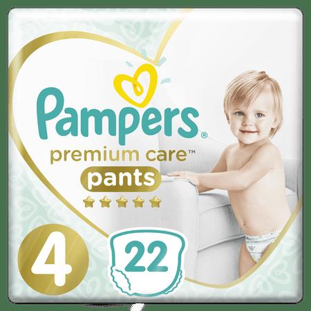 Pampers Premium Care 4 (9-15 kg) hlačne plenice Carry Box 22 kosov
