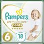 1 - Pampers Premium Pants 6 (15+ kg) 18 db
