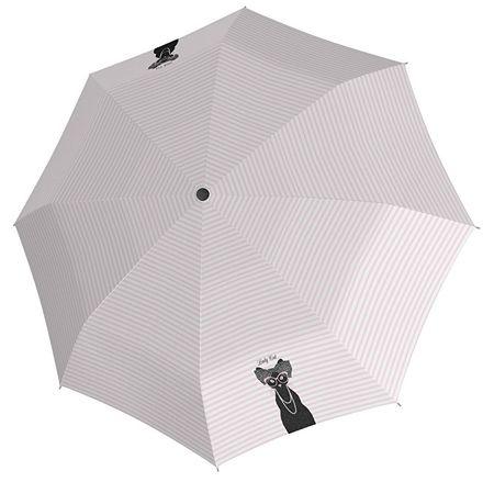 Doppler Dámský skládací mechanický deštník Fiber Magic Lady Cats 7441456LC
