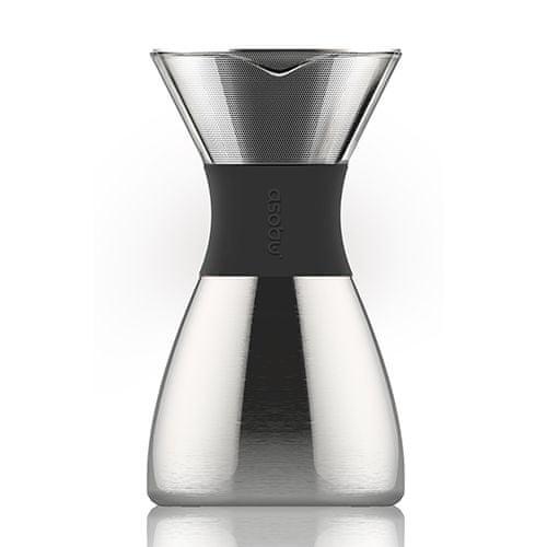Asobu Pour Over - stříbrný