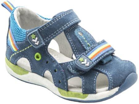 Bugga chlapecké sandály 20 modrá