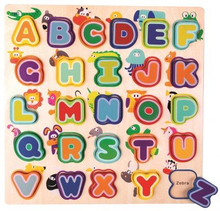 Bino Alfabet zwierząt, angielski