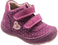 Bugga dívčí kotníkové boty se srdíčkem