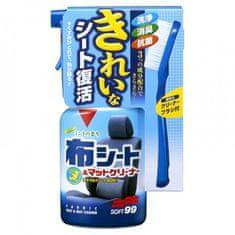 SOFT99 sredstvo za čišćenje tekstila + četka, 400 ml