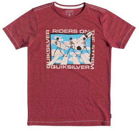 Quiksilver koszulka chłopięca Stormy Rider SS 128 ceglana