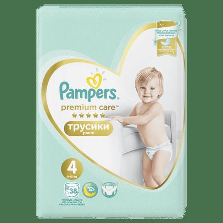 Pampers pelene Premium Pants 4 Maxi, 38 kom