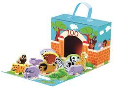 Bino Cestovné kufrík so zvieratkami ZOO