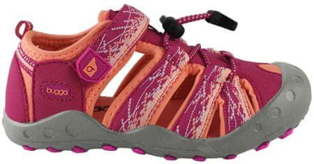 Bugga dívčí sandály 27 oranžová/červená