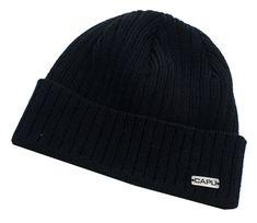 Capu Zimní čepice 728-B Black