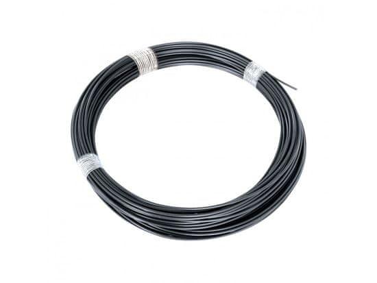 Napínací drát - antracit, délka 52m