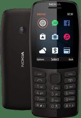 Nokia 210 Dual SIM, czarna