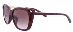 Clueless dámské hnědé sluneční brýle