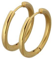 Tribal Aranyozott fülbevaló gyűrű ESS503_16 Arany