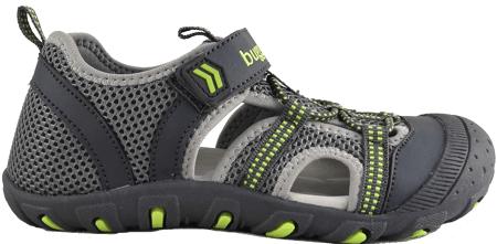 Bugga sandale za dječake, sive, 27