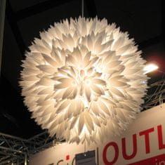 Danish Style Závěsný lustr z bílých květů Lily