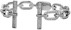 Michael Kors Elegáns szilárd karkötő kristályokkal MKJ4859040