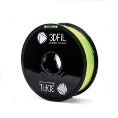 3DFiL PETG žlutá transparentní - 1,75 mm - 1kg