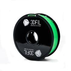 3DFiL PETG zelená transparentní - 1,75 mm - 1kg